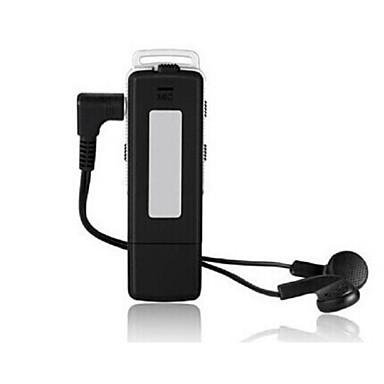 У диска цифровой диктофон mp3 плеер портативный USB Pen диск флэш-накопитель цифровой аудио диктофон 8gb