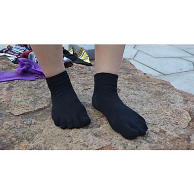 Damen Zehensocken / Yoga Socken tragbar, Atmungsaktiv, Antirutsch Für Ballett / Pilates / Tanz - 1 Paar Baumwolle Frühling / Sommer / Herbst / Dehnbar