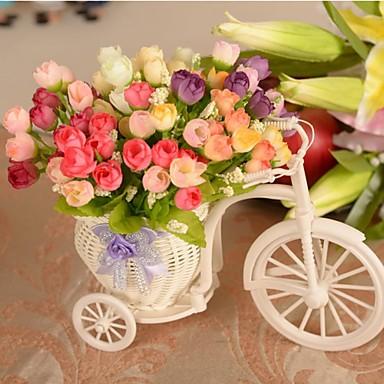 Kunststof Zijde Bruiloftsdecoraties Bloemen Thema
