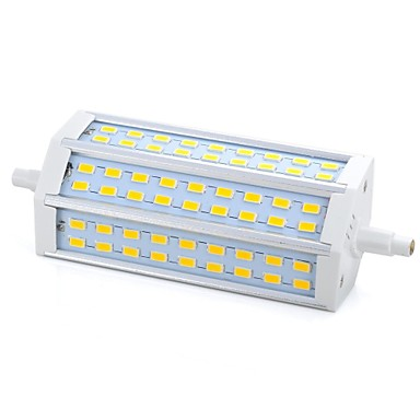 R7S LED kukorica izzók 54 LED SMD 5730 Tompítható Meleg fehér 1000-1200lm 3000/6500K AC 220-240V