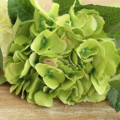 Tak Polyester Hortensia's Bloemen voor op tafel Kunstbloemen