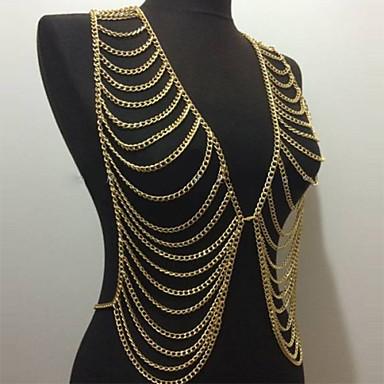 Women's Body Jewelry Body Chain Alloy Unique Design Fashion Jewelry Jewelry Party 1pc