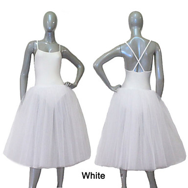 Ballet Jurken en rokken Dames Kinderen Opleiding Prestatie Nylon Tule Lycra 1 Stuk Kleding