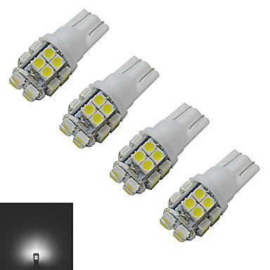 85 lm T10 Lichtdekoration 20 Leds SMD 3528 Kühles Weiß DC 12V