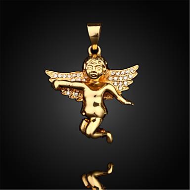 Férfi aranyos stílus Nyaklánc medálok Függők Arannyal bevont Nyaklánc medálok Függők , Napi Hétköznapi Sport