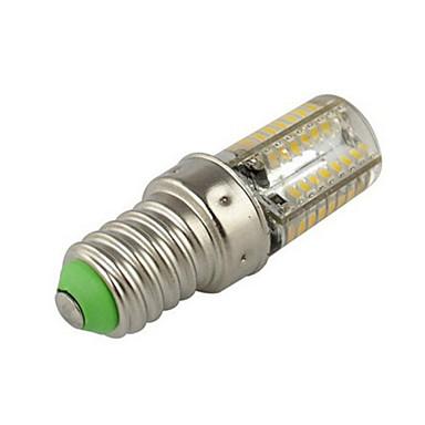 2,5 W 200-250 lm E14 LED kukorica izzók T 64 led SMD 3014 Meleg fehér Hideg fehér AC 220-240V