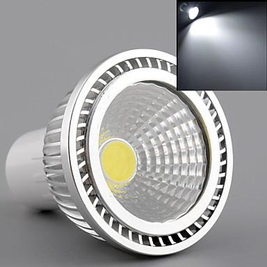 450lm GU10 LED Spot Lampen MR16 1 LED-Perlen COB Warmes Weiß / Kühles Weiß / Natürliches Weiß 85-265V