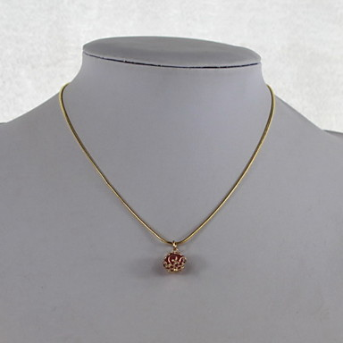 Fashion Alloy/Imitation Pearl Necklace Hand Woven Pendant Necklaces Party/Daily