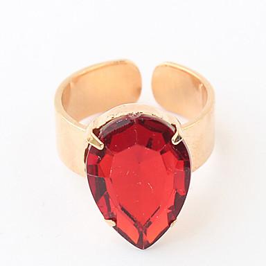 Women's Rhinestone Gold Black Red Blue Pink Alloy Costume Jewelry
