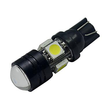 250-280 lm T10 Decoration Light 5 leds SMD 5050 Cold White DC 12V