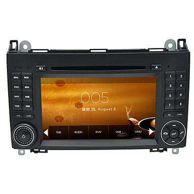 GPS지도 지원 1080p 비디오와 벤츠 비토의 Viano 단거리 2 딘 자동차 DVD 플레이어 자동차 스테레오