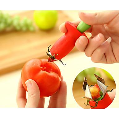 mutfak aletleri çilek domates kazmak çekirdek cihazı 1pc, mutfak aleti