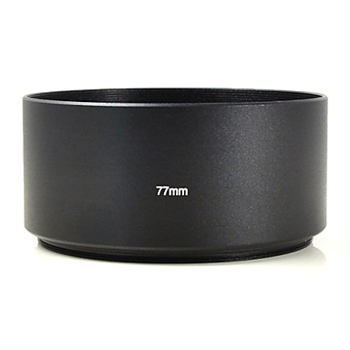 mengs® 77мм алюминий телеобъектив капот для Canon Nikon Sony Olympus Pentax Фудзи цифровой фотоаппарат и т.д. DSLR