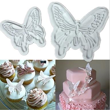 Bakeware verktøy Plast Kake Cake Moulds 1pc