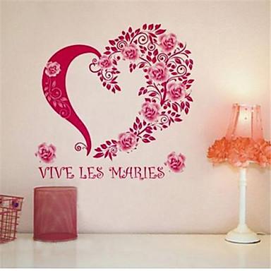 αυτοκόλλητα τοίχου αυτοκόλλητα τοίχου, αυτοκόλλητα τοίχου γαλλική τριαντάφυλλο pvc