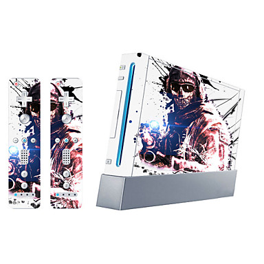 b-Skin® Wii konzol védőmatrica fedél bőr vezérlő bőr matrica