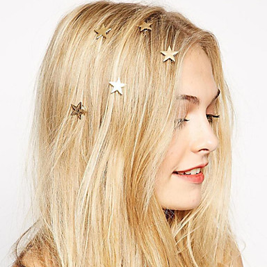 Women's Bohemian / Fashion / Sweet Alloy Hair Clip - Solid Colored