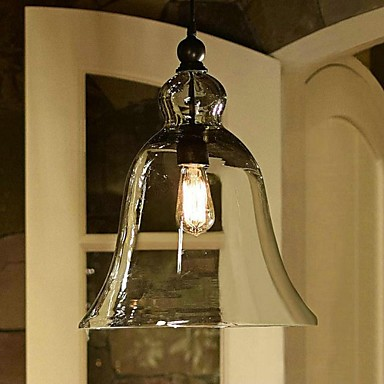 Pendant Light ,  Country Painting Feature for Mini Style Glass Bedroom Dining Room Study Room/Office Entry Hallway
