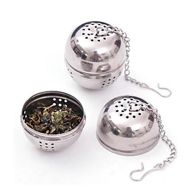 Stainless Steel Tea Infuser Strainer Mesh Filter Locking Spice Ball 8.5x4.5x4cm