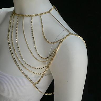 Цепь Тела / Belly Chain - Жен. Уникальный дизайн Для вечеринки На каждый день Мода Прочее Украшения для тела Назначение Для вечеринок