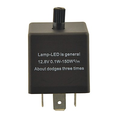 cf13kt bil kondensator justerbar enhet / blinklys for LED (DC11 ~ 15v 0,02 ~ 20a)