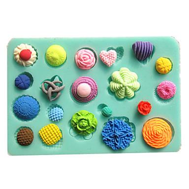 painike kiinnitin konvehti kakku muotit suklaata hometta keittiöön leivontaan savi hometta sugarcraft koriste työkalu
