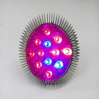 youoklight® e25 12w 10red en 2blue licht led spot lamp planten groeien licht (ac100-265v)