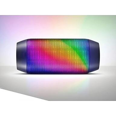 무선 블루투스 스피커 2.1 CH 휴대용 야외 미니 LED 조명