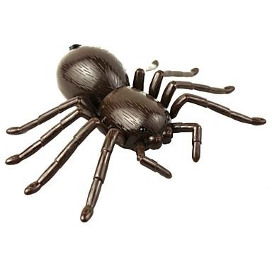 Jukseleker Fjernstyrte dyr Leketøy SPIDER Creepy-crawly simulering Gave