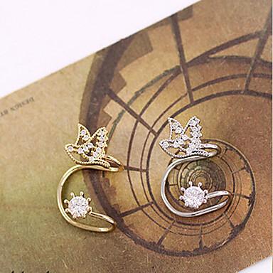 Earring Ear Cuffs Jewelry Women Birthstones Wedding / Daily / Casual Alloy 1pc Gold / Silver