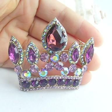 Crown Shape Χρώμα Οθόνης Κοσμήματα Για Γάμου Πάρτι Ειδική Περίσταση Γενέθλια