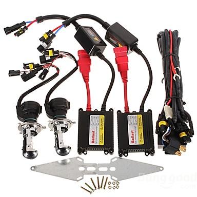 2pcs H4 Auto Leuchtbirnen 35W 3200lm HID Xenon Scheinwerfer For Honda / Toyota