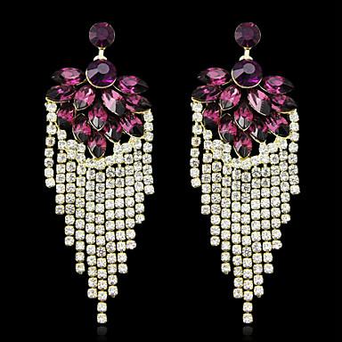 Naušnica Kubični Zirconia Viseće naušnice Jewelry Žene Birthstones Vjenčanje / Party 1set