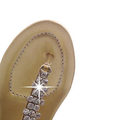 Talon Femme Eté Argent Habillé Plat Automne Chaussures Avec Pour 03316606 Similicuir Doré wrRpIqxr