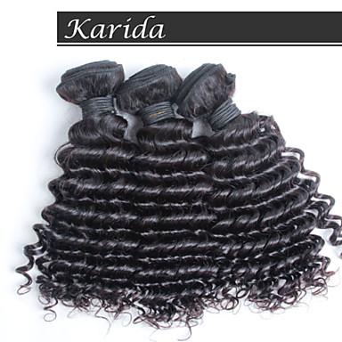 3 PSC / csomó bestseller malajziai haj nagykereskedelmi kiterjesztéseket, olcsó malajziai mély göndör haj