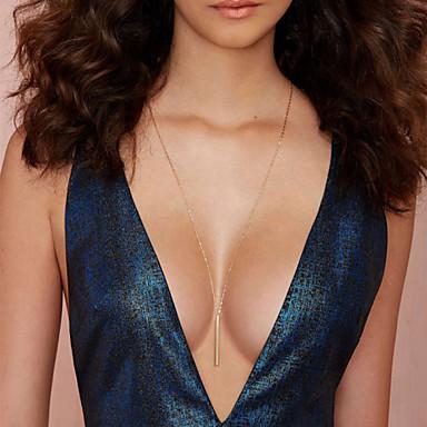 여성용 술 미니멀 스타일 계층화 된 목걸이 합금 계층화 된 목걸이 ,