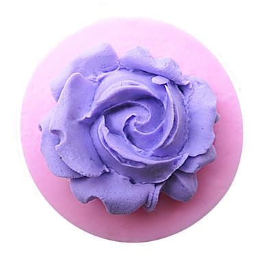 μίνι λουλούδι εργαλεία πολυμερές πηλό λουλούδι τούρτα μούχλα ψήσιμο σιλικόνης διακοσμήσεις για σοκολάτες κέικ καραμέλα