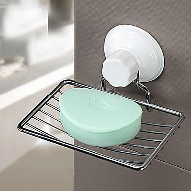 비누 케이스 & 홀더 고품질 콘템포라리 스테인레스 스틸 + A 그레이드 ABS 1개 - 호텔 목욕 벽내장