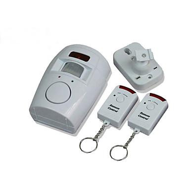 IR-ilmaisin Hälytyksen liiketunnistin alertor kotitoimiston myymälä varasto valkoinen