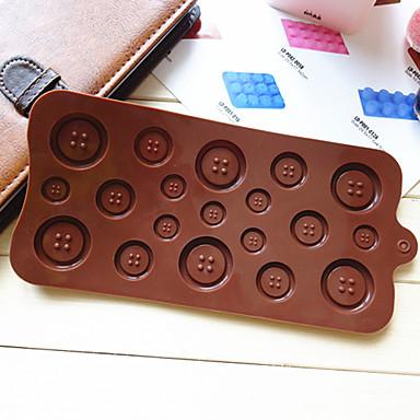 Taste förmigen Süßigkeiten Schokolade Muffin Backform Form (gelegentliche Farbe)