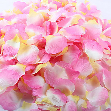 1 Branch Polyester Roses Tabletop Flower Artificial Flowers