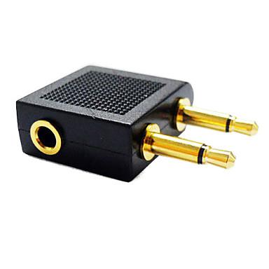 3,5 mm Audio-Buchse Splitter 1 auf 2 männlichen 3,5 mm Klinke-Splitter-Konverter-Adapter