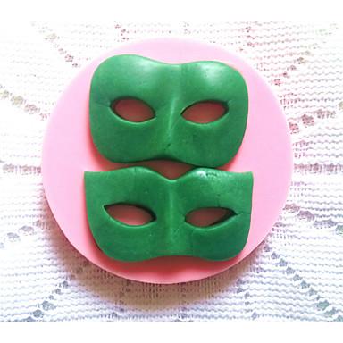 fondan çikolata kek bakeware silikon maske pişirme kalıpları
