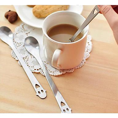 ruostumaton teräs lusikka tee kahvijuoma lusikalla tl häälahjaksi