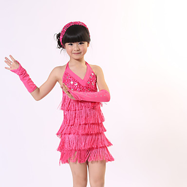 Λατινικοί Χοροί Επίδοση - Φορέματα - Παιδικά (Μαύρο Φούξια ... dde9eb2b3ce