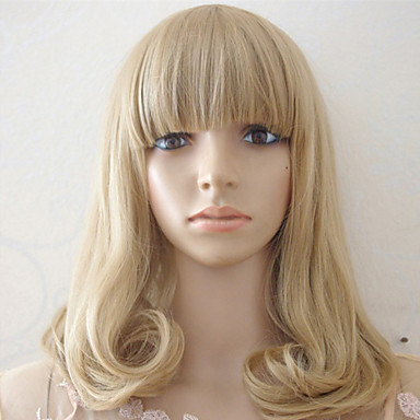 Synthetic Hair Wigs Wavy Capless Costume Wig