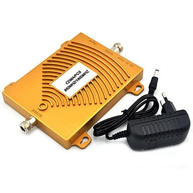 CDMA 850MHz& db 1900MHz kétsávos mobiltelefon jelerősítő db CDMA jelerősítő + teljesítmény