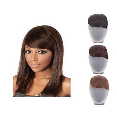 Straight Bangs Fringe 0.03kg Synthetic Hair Hair Piece Hair Extension