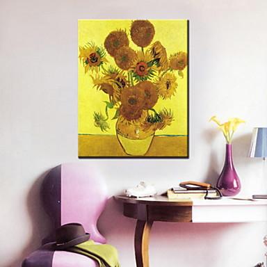festmények egy panel modern napraforgó kézzel festett vászon készen áll, hogy lefagy