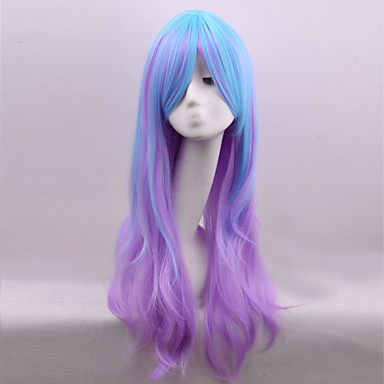 New Style Cosplay Natural Wave Hair Wig Synthetic Wave Hair Wig